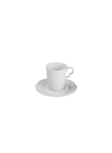 Kütahya Porselen Menuet Latte Seti 2 Renkli